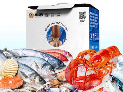 蟹状元年货:明明可以靠颜值,偏偏靠实力的海鲜大礼包