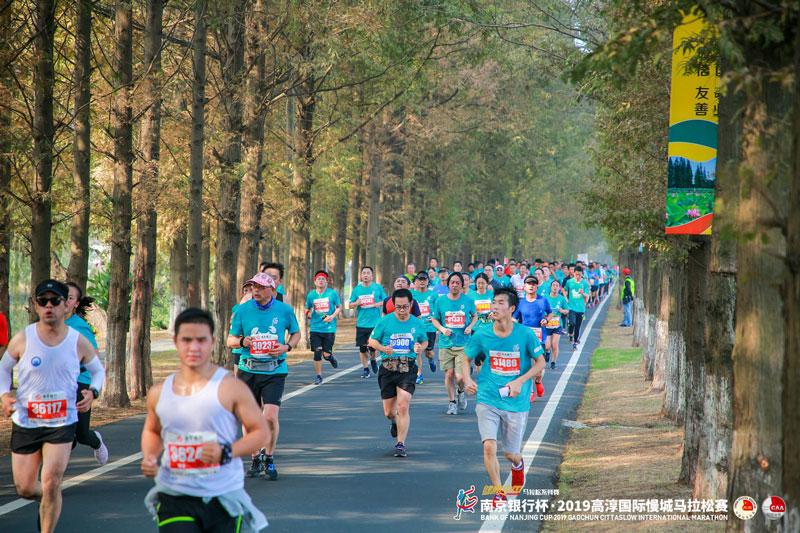 南京银行杯2019高淳国际慢城马拉松赛800