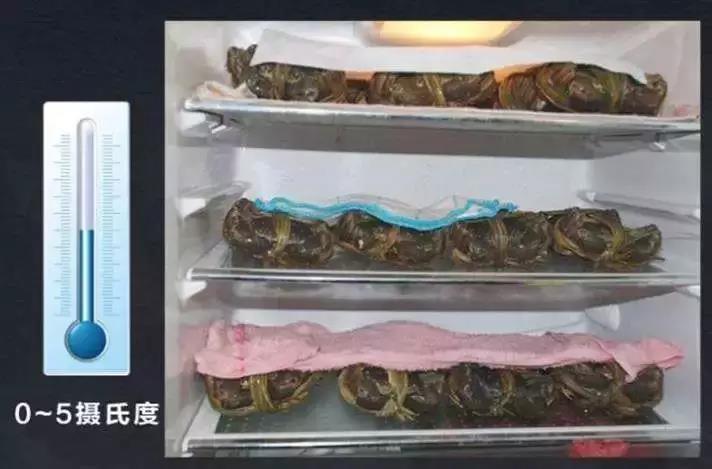 大闸蟹保藏温度