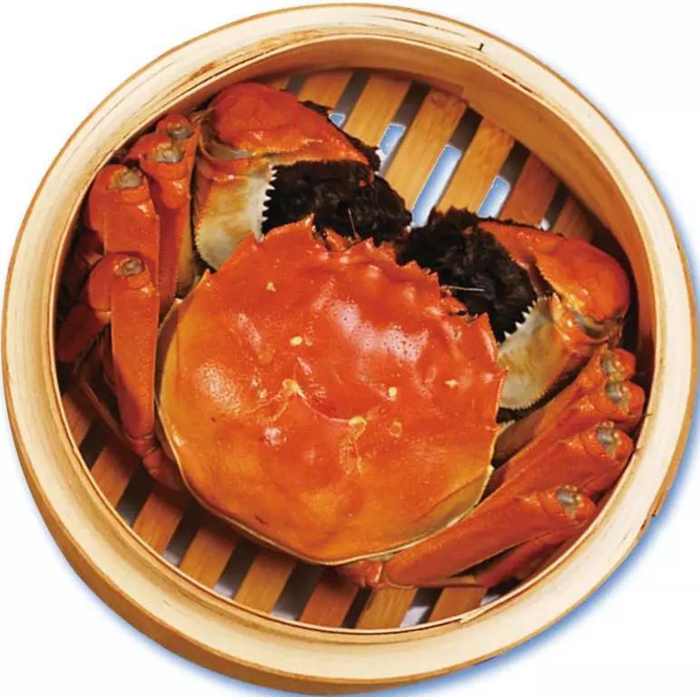 大闸蟹清蒸美食