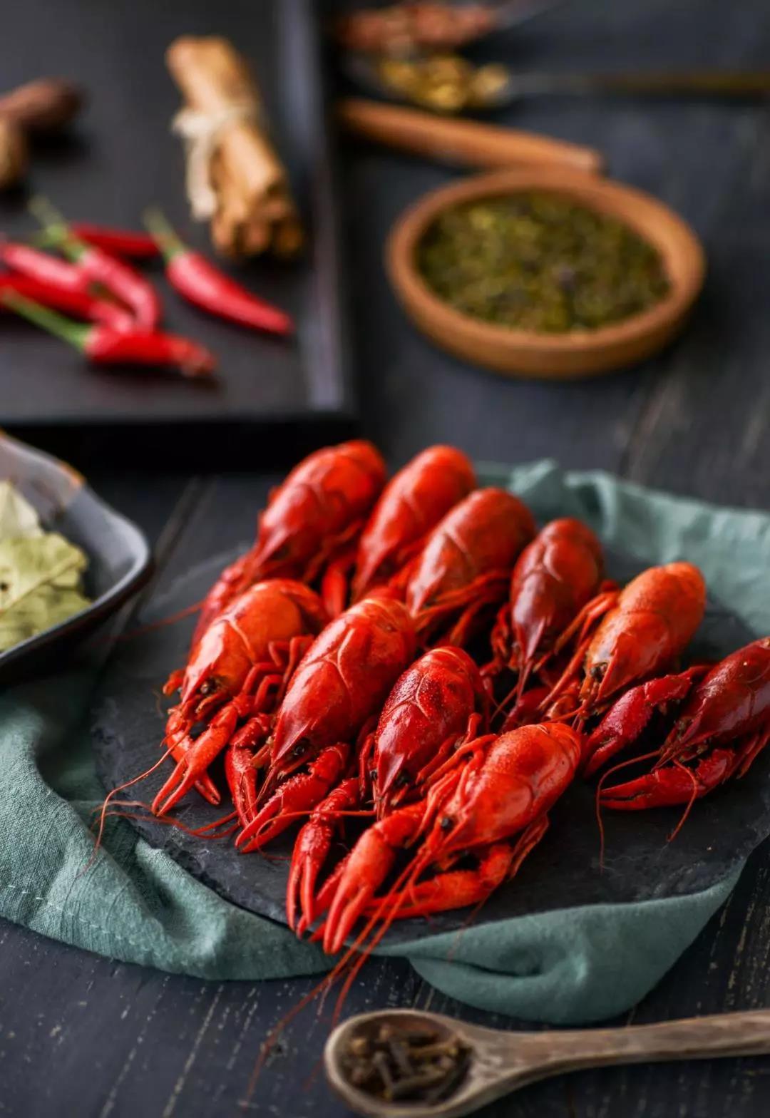 小龙虾美食
