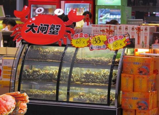 大陆大闸蟹横行到台湾市场 当地部分蟹农退出!