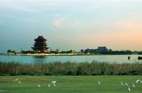 阳澄湖美景漫步